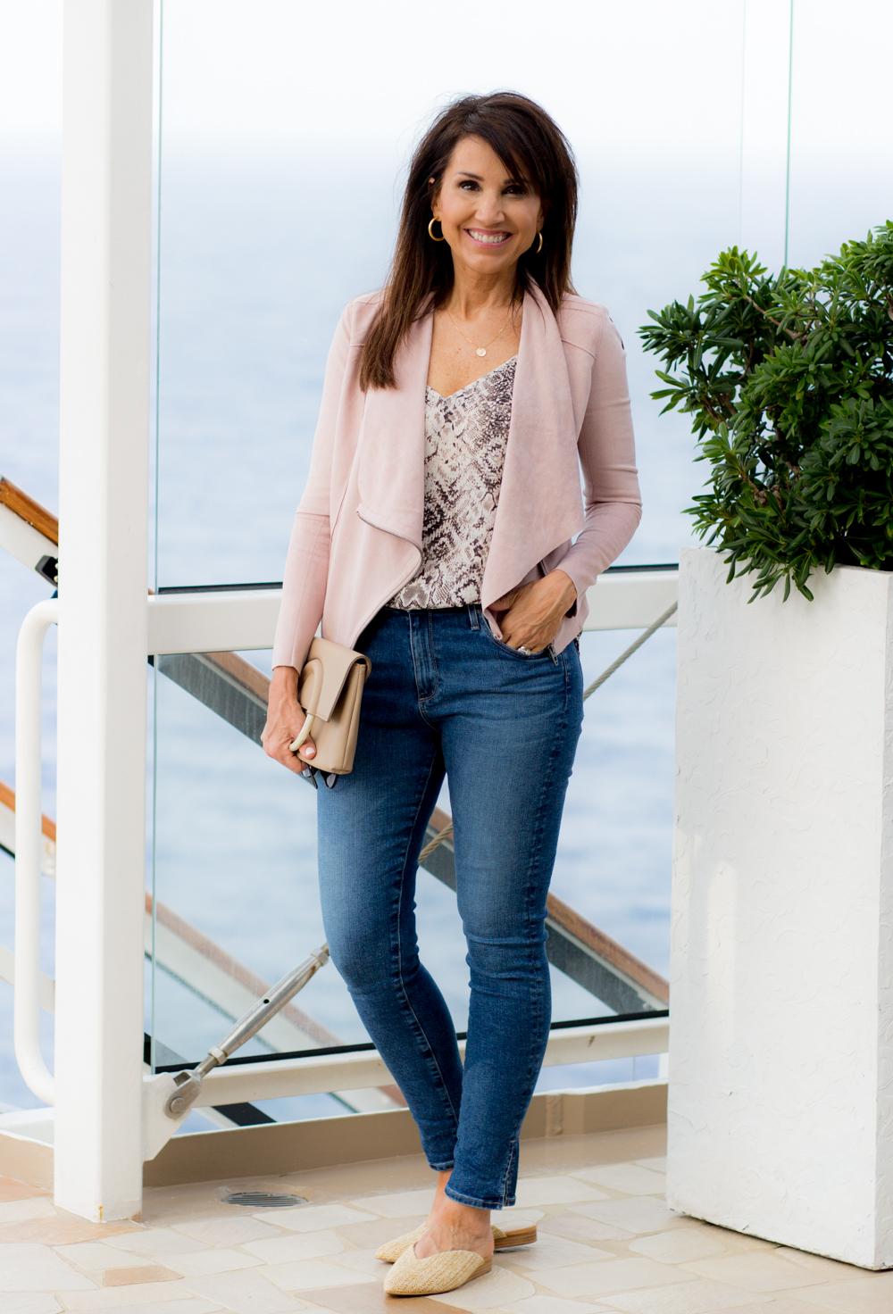 Pink Jacket for Spring