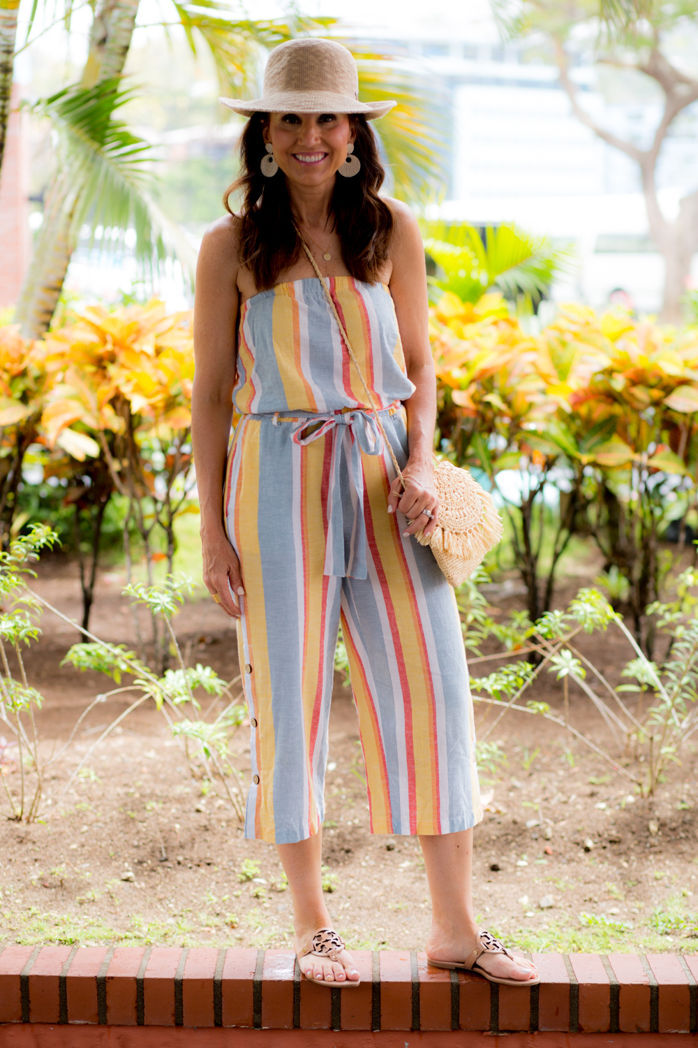 Striped Jumpsuit from Social Threads