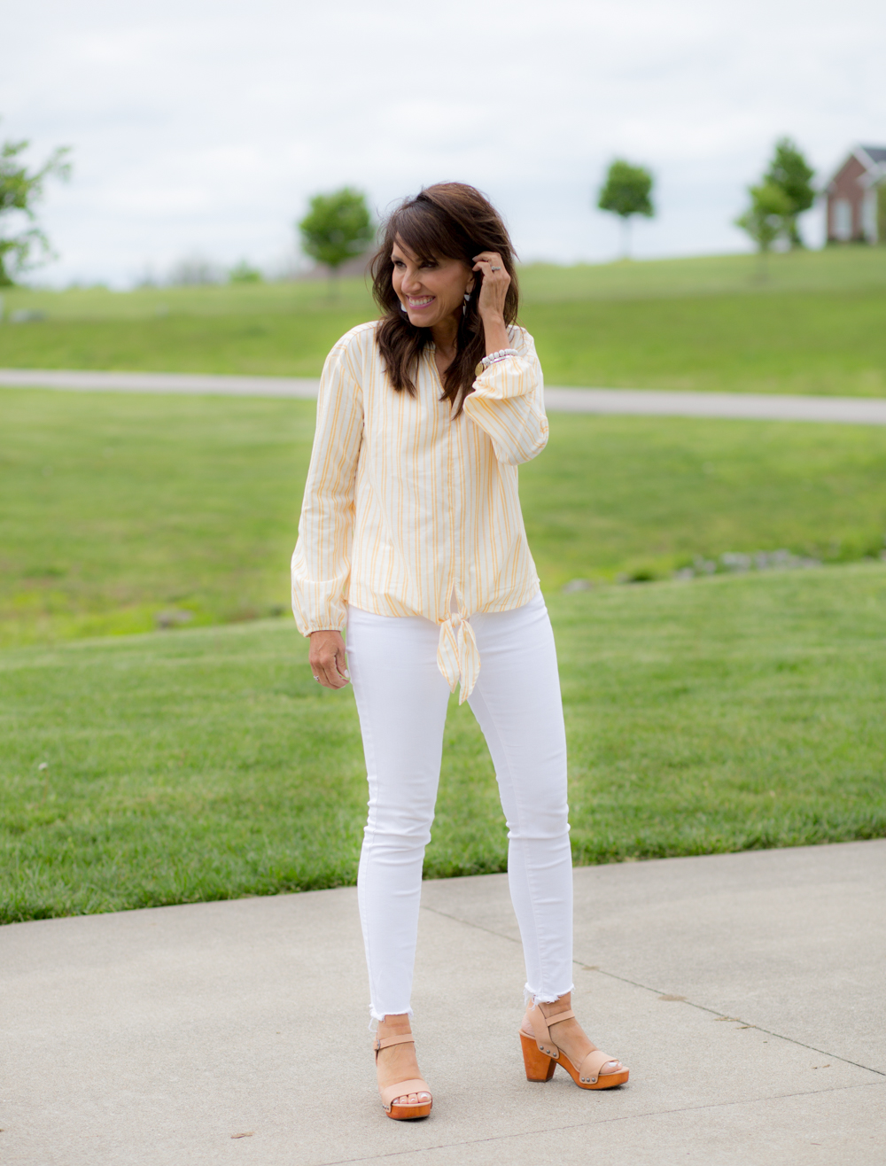 Casual Weekend Outfit + A Giveaway - Cyndi Spivey