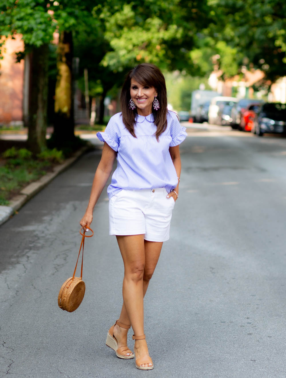 Blue and White Fashion for Summer