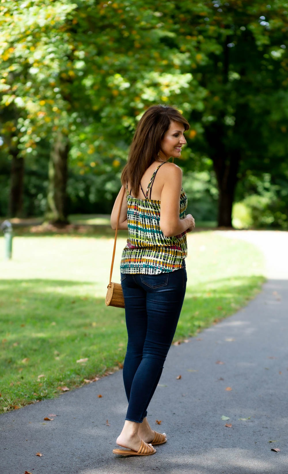 Striped Cami: Wear Now And Later
