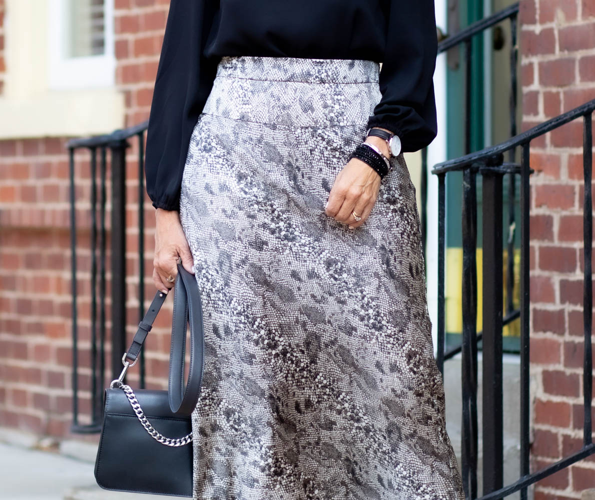 SNAKE PRINT TREND: WEAR NOW AND LATER