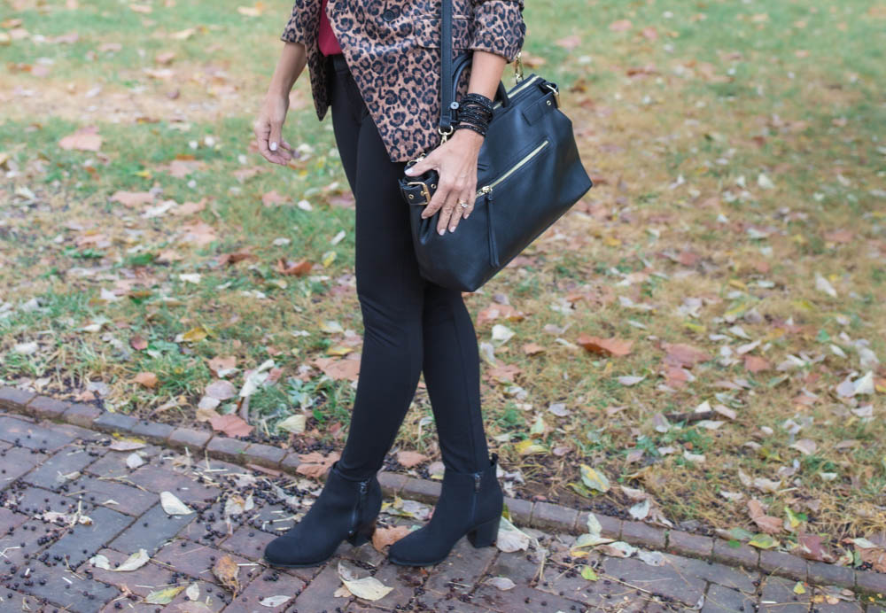 Fall Fashion Forecast: Animal Print Blazer