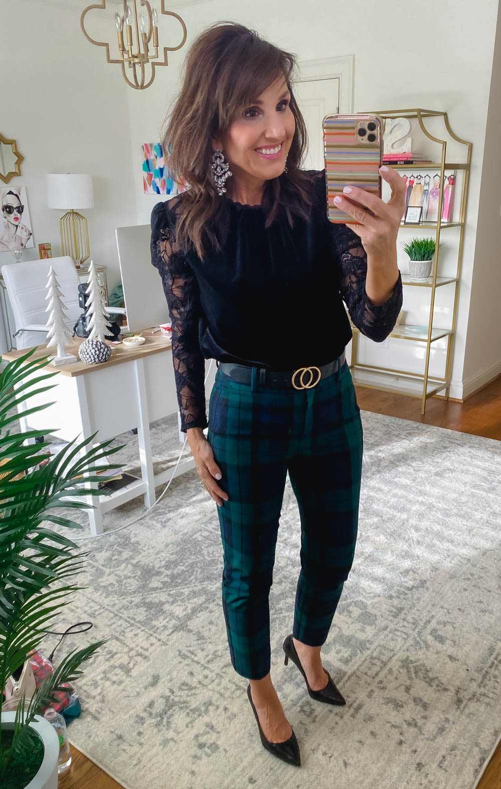 5 Ways to Style Black Watch Pants