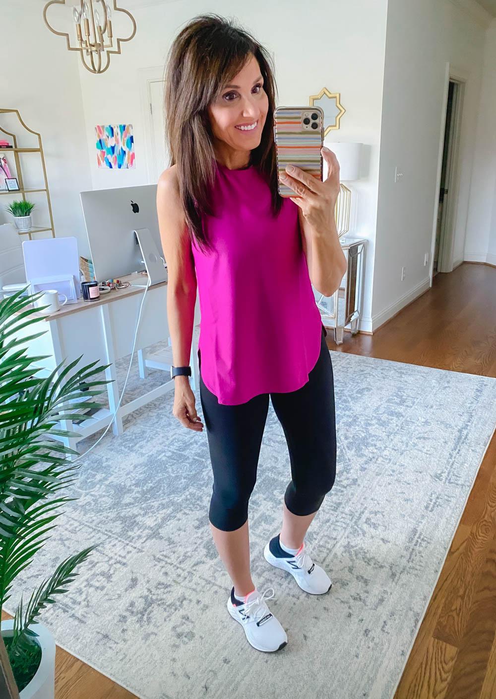 Amazon Athletic Wear:Capri Leggings