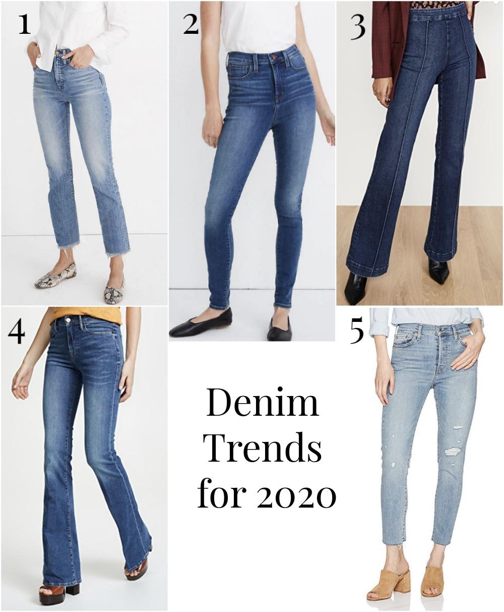 Denim Trends for 2020
