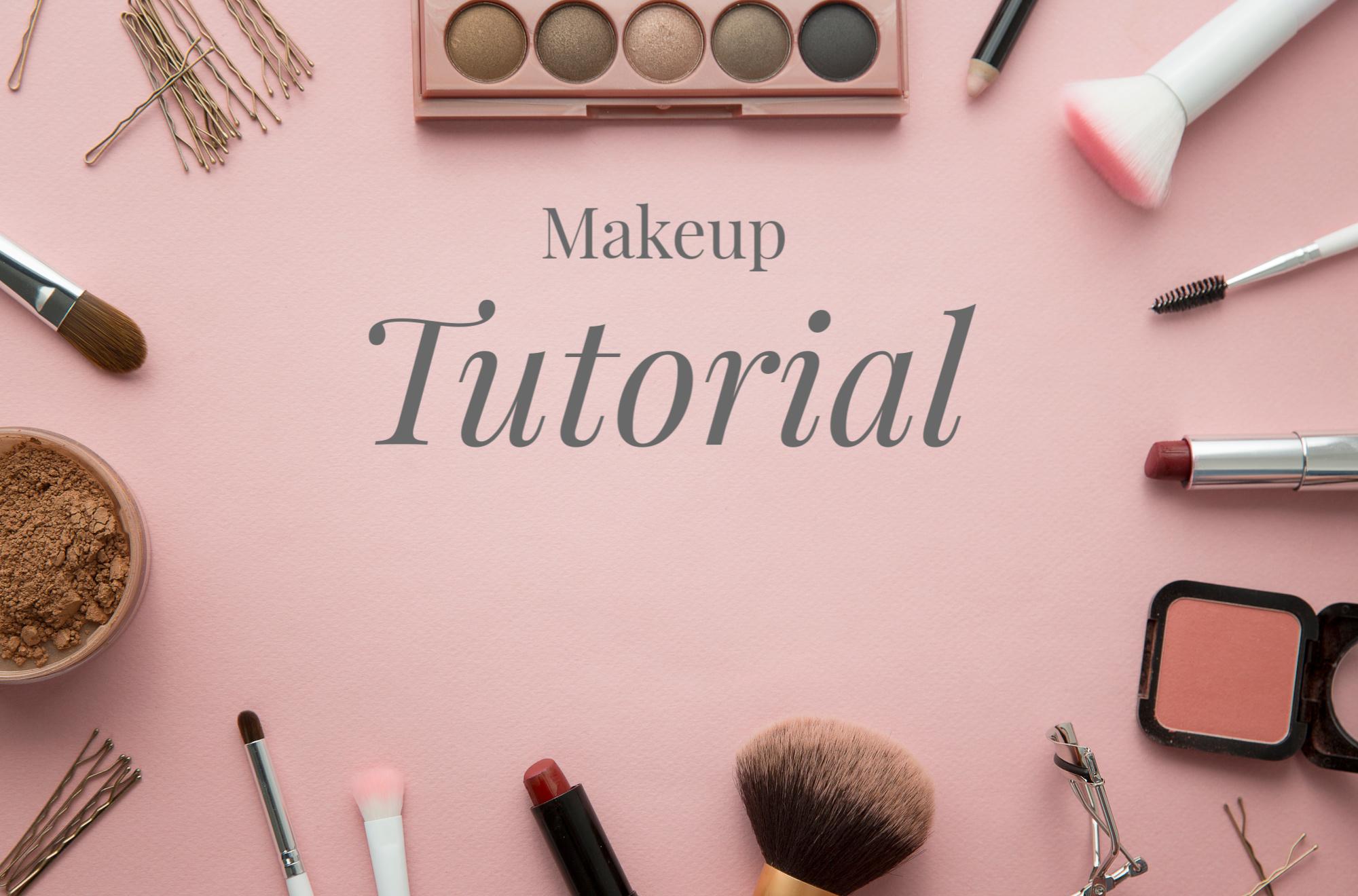 My Makeup Tutorial Cyndi Spivey