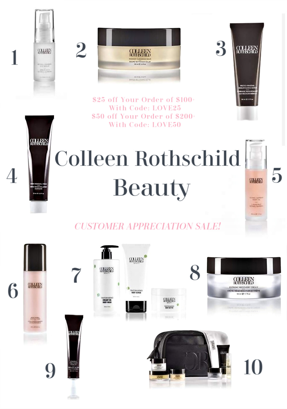 Customer Appreciation Sale with Colleen Rothschild