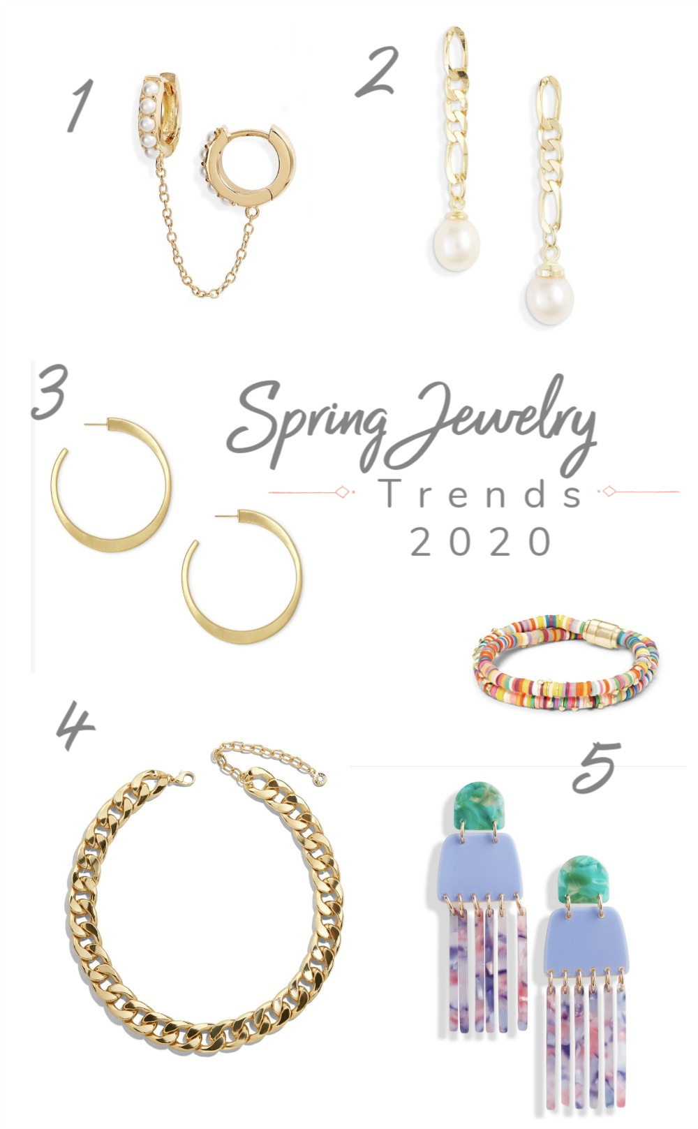 Spring Jewelry Trends in 2020
