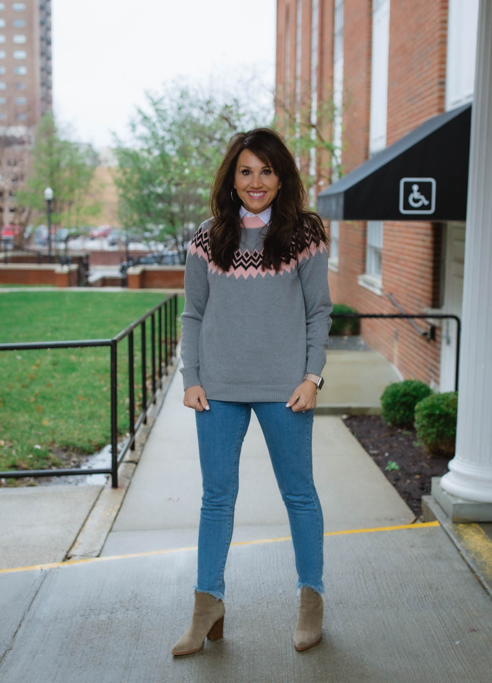 Fair Isle Sweater Outfit