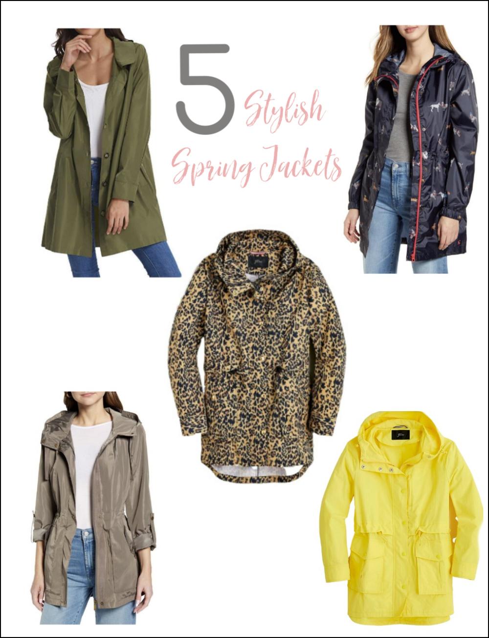 5 Stylish Spring Jackets