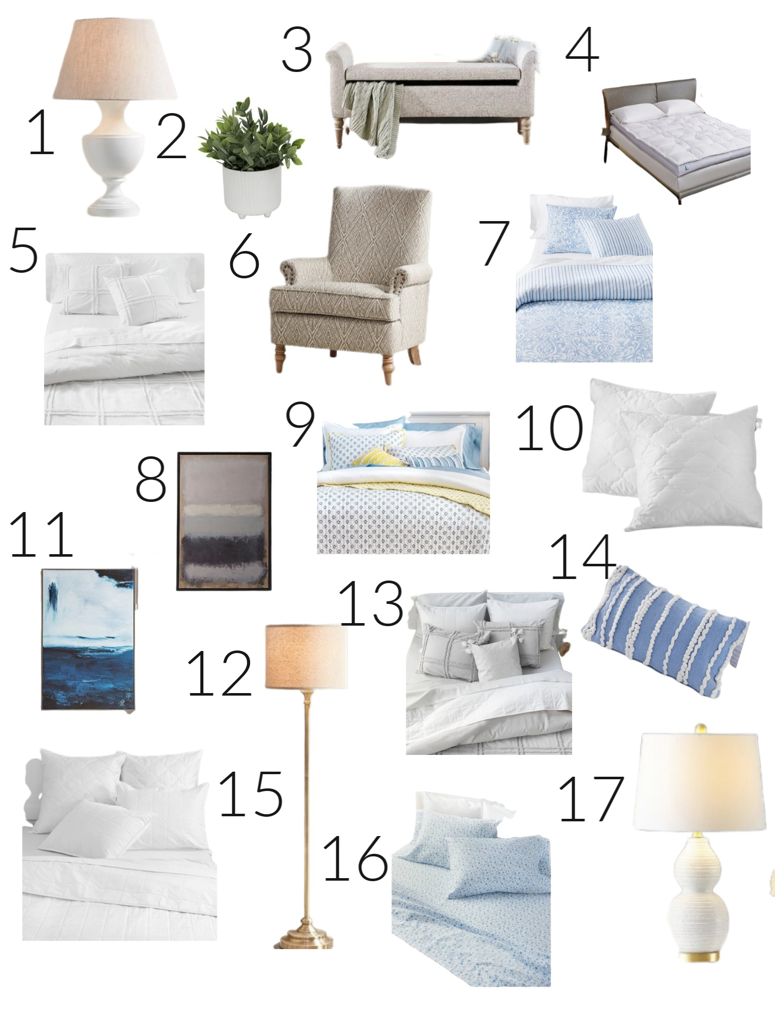 Summer Bedroom Refresh with Zulily