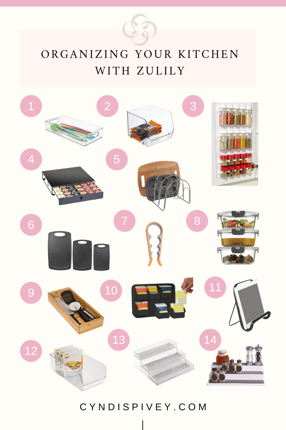 Organizing Your Kitchen with Zulily