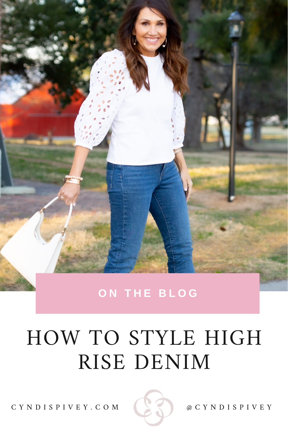 How to style high rise denim