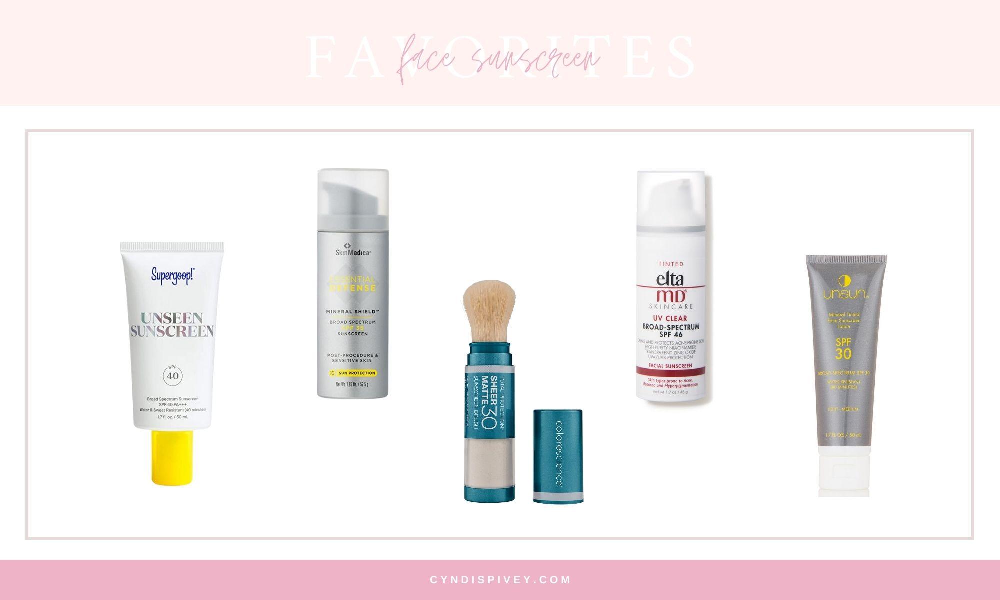 Best Face Sunscreens 2021