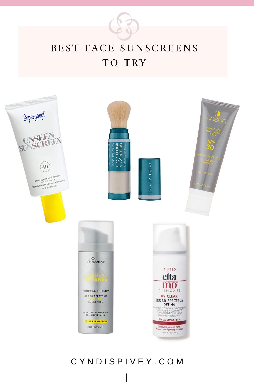 Best Face Sunscreens For Women Over 40