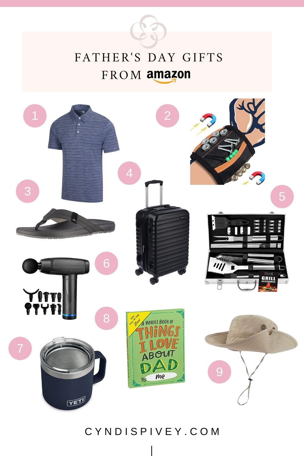 Last Minute Father's Day Gifts from Amazon | Cyndi Spivey