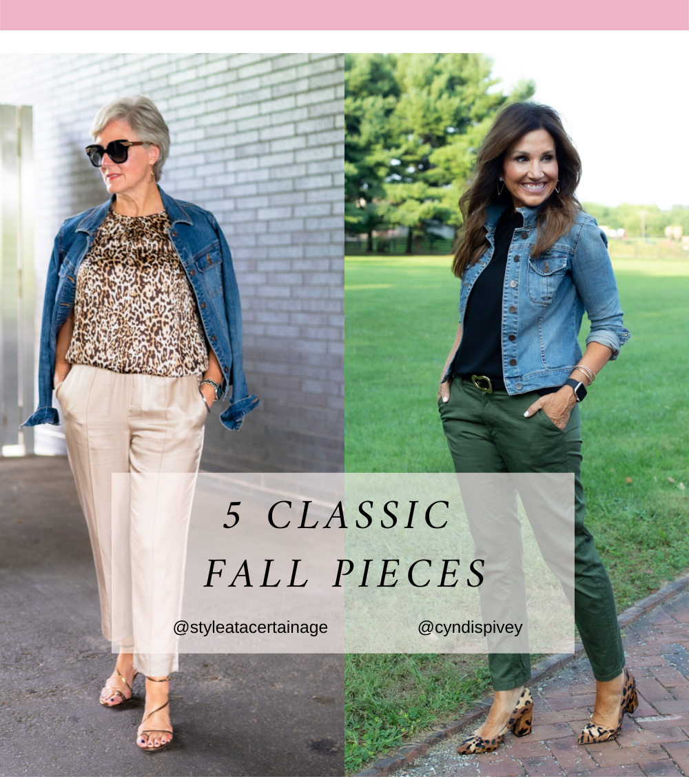 5 Classic Fall Pieces for Women Over 40