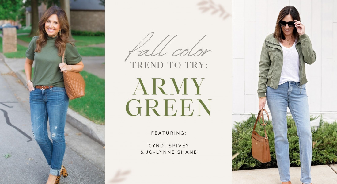 Fall Trend to Try: Army Green/Olive