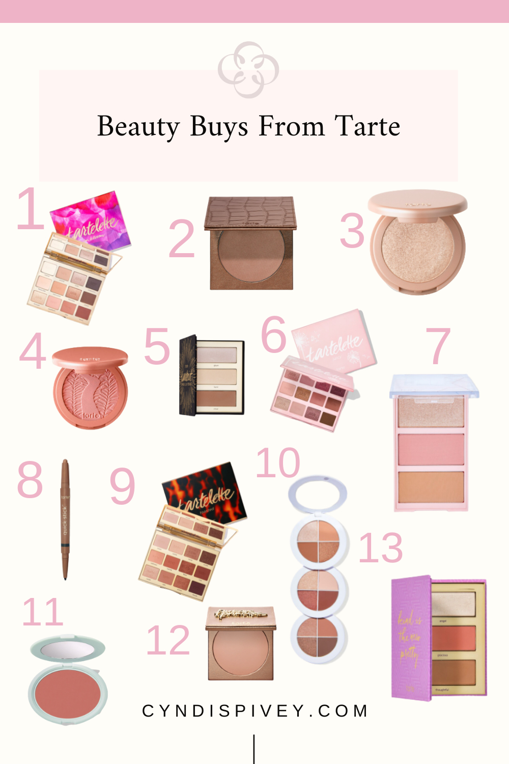 Beauty Buys From Tarte